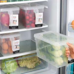 סט 4 קופסאות אחסון למזון בעלות ידית אחיזה ומכסה